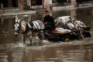 Il clima invernale porta nuovi disastri a Gaza