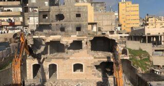 Pulizia etnica in corso a Gerusalemme: l'IOA demolisce casa ed edifici palestinesi