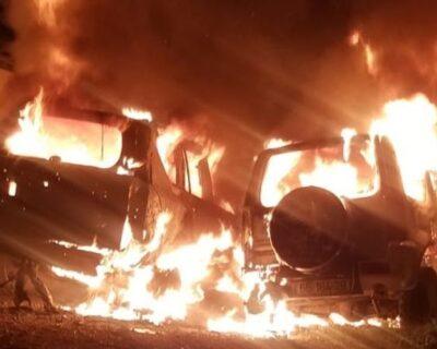 Coloni incendiano auto di autoctoni gerosolimitani, e le IOF se la prendono con le vittime