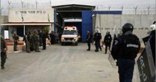 Forze israeliane invadono sezione 22 del carcere di Ofer
