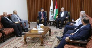 Delegazione di sicurezza egiziana arriva a Gaza