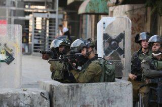 Cinque palestinesi feriti dalle IOF a Nablus