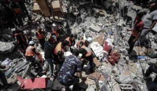 Continuano i bombardamenti israeliani su Gaza, il bilancio attuale: 219 morti e 1530 feriti
