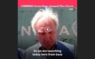 UNRWA esorta Israela a permettere entrata di aiuti a Gaza