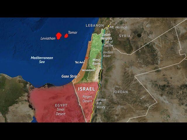 """La vera ragione dei bombardamenti su Gaza, Marsiglia-Federpetroli: giacimento di gas Leviathan """"conteso"""" tra le parti"""