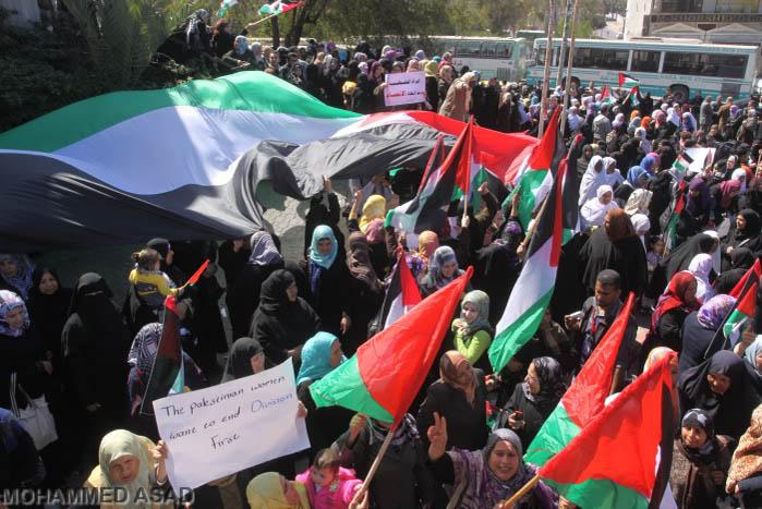 Diritti, lavoro e fine divisioni interne: l'8 marzo delle donne palestinesi a Gaza
