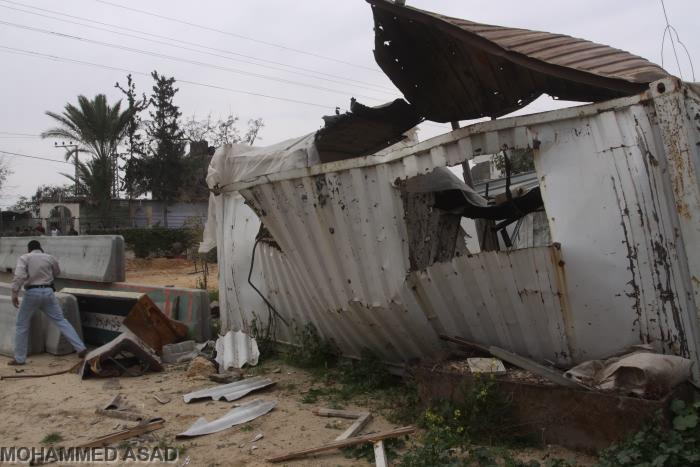Offensiva dell'artiglieria e dell'aviazione israeliane contro Gaza. Diversi feriti