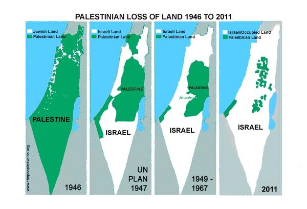 2011: 'Centinaia le case demolite, decine di migliaia gli ettari di terra palestinese confiscati da Israele'