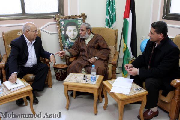 Riconciliazione nazionale: Sha'at incontra az-Zahaar a Gaza