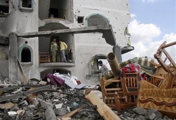Novembre 2011 di violazioni israeliane contro terra e cittadini palestinesi. I dati