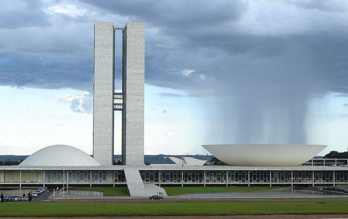 Le delegazioni della European Campaign e della Freedom Flotilla ricevute al Congresso federale brasiliano.