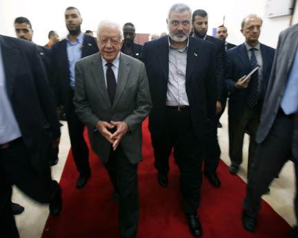 Carter: 'L'assedio su Gaza, tra le violazioni ai diritti umani più eclatanti al mondo'