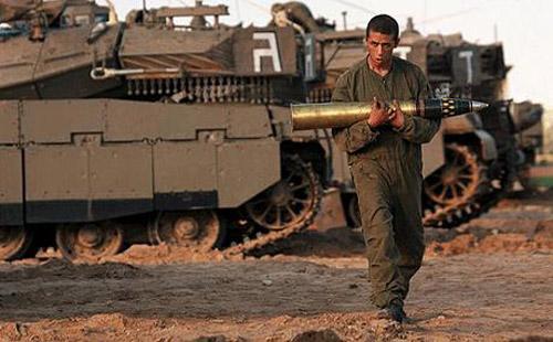 Cannonate israeliane a Gaza