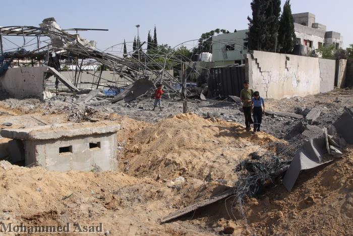 Raid aerei israeliani contro la Striscia di Gaza