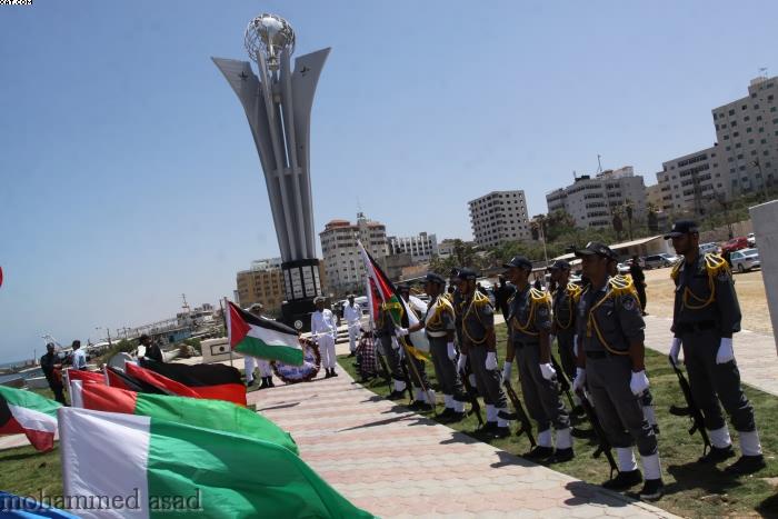 Un monumento per i caduti della Freedom Flotilla 1. A Gaza si celebra il 1° anniversario