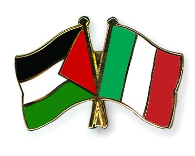 L'Italia eleva lo status diplomatico della Palestina