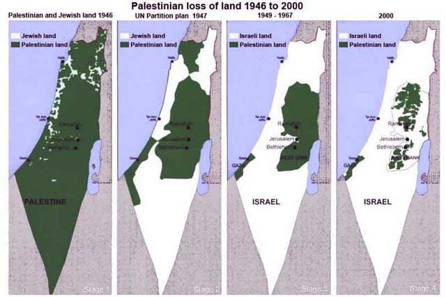 Piano israeliano per 'conquistare' in Cisgiordania le terre presunte oggetto di 'scambio di territori'