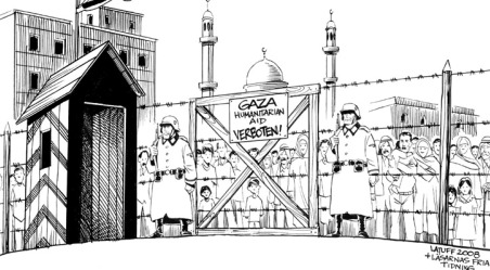 ASSEDIO AL GHETTO DI GAZA