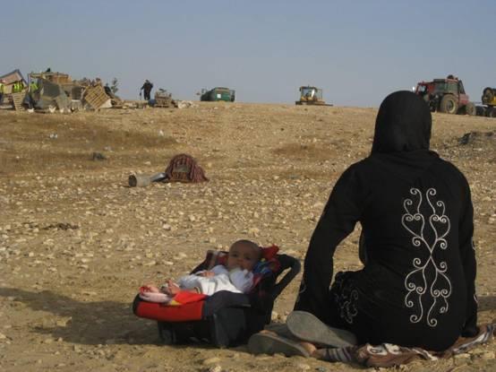 11° demolizione del villaggio di al-'Araqib: espulsi gli abitanti