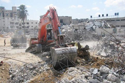 Agli abitanti di Gaza non è permesso ricostruire la priopria vita.