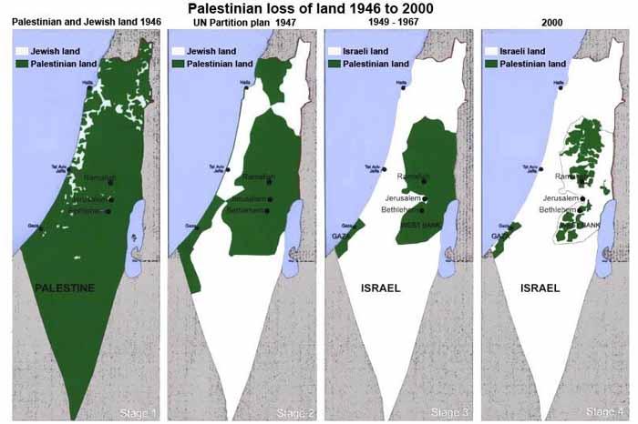 Carter da Bil'in contro gli insediamenti in Cisgiordania