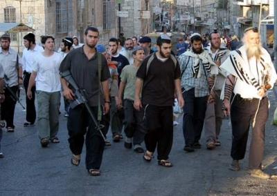 La pace secondo Israele: la polizia recluta coloni da combattimento