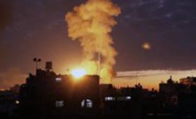 Gaza: aerei israeliani bombardano un sito delle Brigate al-Qassam