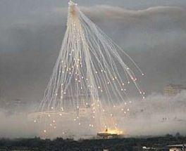 CRIMINI DI GUERRA A GAZA: bruciati a morte dal fosforo bianco.