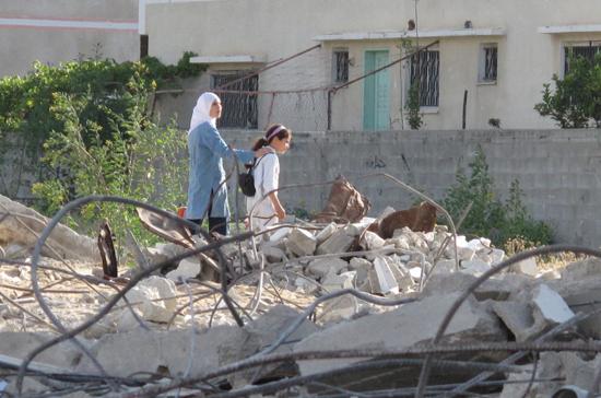 29 dicembre 2008, Piombo Fuso: il ricordo della famiglia Balousha