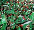 20° anniversario di Hamas: una folla ha gremito Gaza. Presenti anche Jihad islamico, FPLP e CRP.