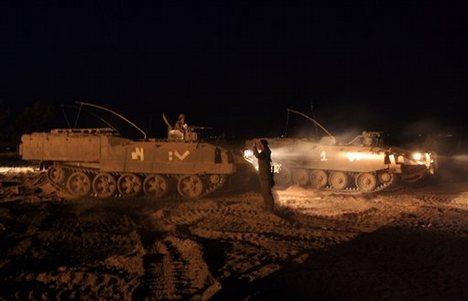 Incursione israeliana al centro di Gaza
