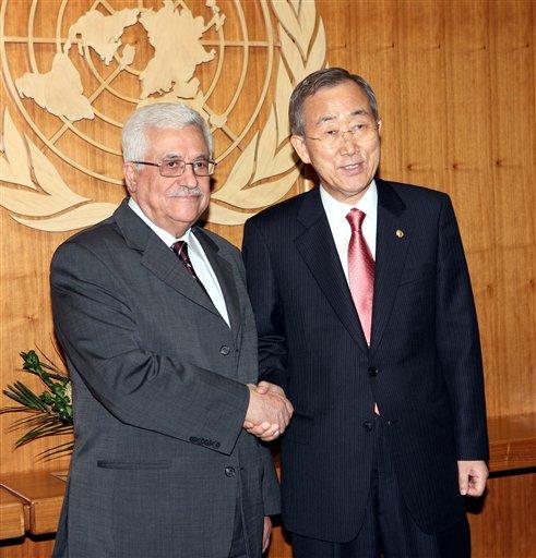 Abbas conferma a Ban Ki-moon intenzione di chiedere voto per Stato palestinese