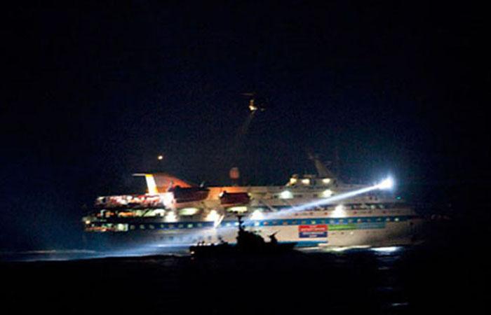 La Mavi Marmara arriva in Turchia dopo le pressioni su Israele
