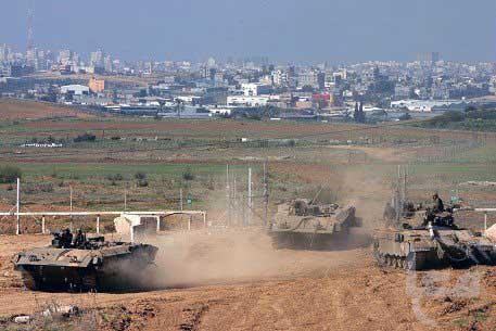 Incursione israeliana a Gaza. Un agricoltore palestinese ferito al capo