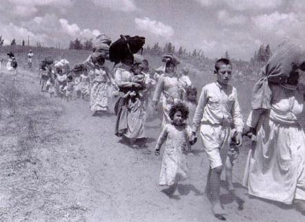 'I percorsi della memoria': progetto sionista di pulizia etnica totale della Palestina.