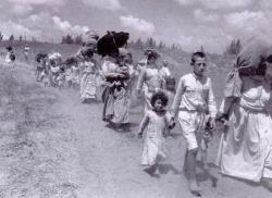 62 anni fa, la Nakba. Un deportato racconta l'espulsione dei palestinesi dalla loro terra.