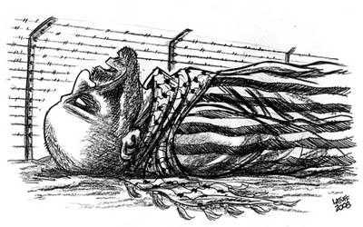 'Il Muro d'Apartheid in Palestina è come quello del Ghetto di Varsavia'