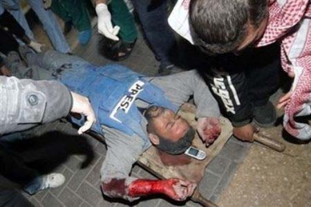 Aumentano le aggressioni contro i giornalisti palestinesi
