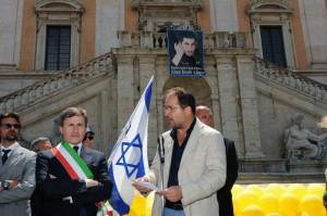 Il capo della Comunità ebraica di Roma: 'Shalit merita il premio Nobel per la Pace'