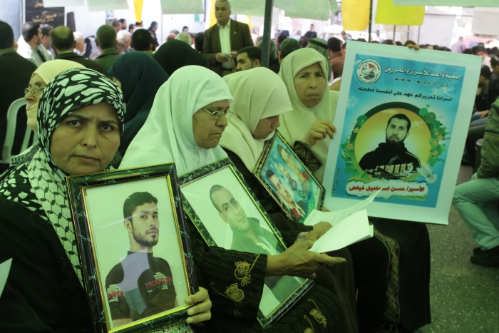 8500 prigionieri politici rinchiusi nelle carceri israeliane.