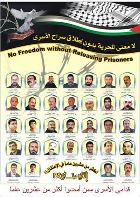 La colomba liberata e i prigionieri palestinesi nelle carceri di Israele