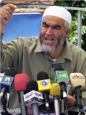Shaykh Raed Salah in carcere: aveva partecipato alla Freedom Flotilla.