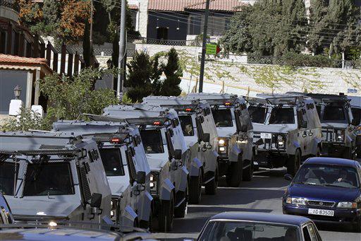 Sicurezza giordana impedisce ai manifestanti di raggiungere la sede diplomatica israeliana
