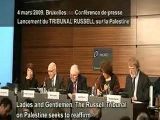 Le conclusioni del Tribunale Russell sulla Palestina (sessione di Barcellona, marzo 2010)