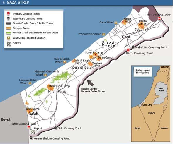 Israele avvia lavori di rimozione di Karni, valico commerciale di Gaza